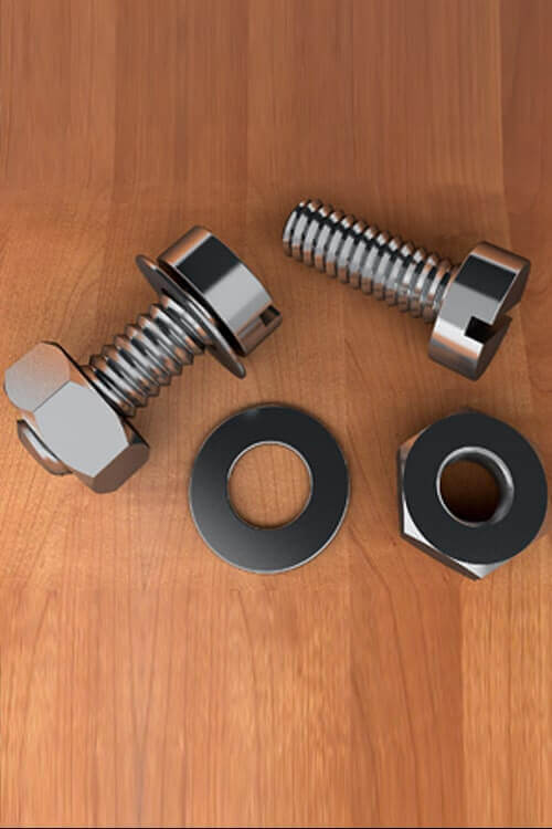 Stainless Steel 316 Fasteners Bolt Nut Screw Washer